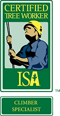 ISA Certified Tree Worker Climber Specialist, On Staff